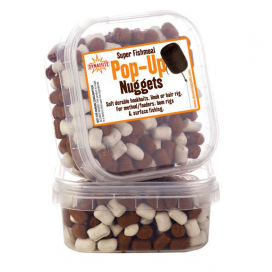 Dynamite Baits Měkčenné peletky Super Fishmeal Pop-Up Nuggets White / Brown