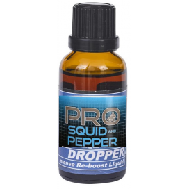 Starbaits Pre Squid & Pepper Dropper 30ml