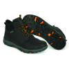 Fox topánky Collection black / orange mid boot