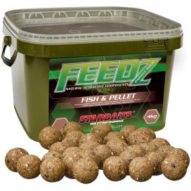 Starbaits Boilies Feedz Fish & Pellets 20mm 4kg
