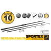Sportex Prut Competition Carp CS-4 3díly Variant: 365cm 3,00lbs