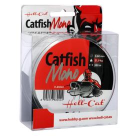 Vlasec Hell-Cat Catfish Mono Clear 300m | 0,60mm