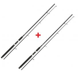 NGT Prut Carp Stalker Rod 8ft / 2pc black 1 + 1 ZADARMO!