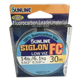 SUNLINE Fluorocarbon SIGLON FC 30m, 0.310mm / 6.10 kg