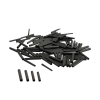 Savage Gear Wire Black CRIMPS XL? 1.6mm 100ks