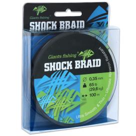 Giants Fishing Šnúra Shock Braid 100m 0,35mm 29,6kg