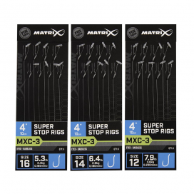 Matrix náväzcami MXC 3 Super Stop 10cm 8ks