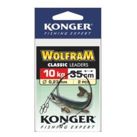 Konger Volfrámové lanko 2ks 25cm / 10kg