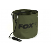 Fox Collapsable Large water bucket inc rope / clip