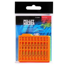 Giants Fishing Zarážky na pelety Pellet Holder Mix Colour (oranžová, žltá, červená), 3 bal.