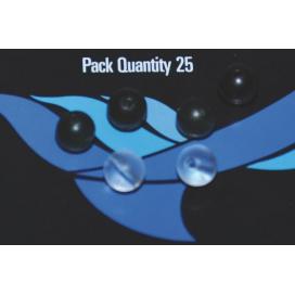Osprey bižutéria - Chameleon multifunkčný korálik hnedý 25ks