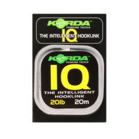 Korda fluorokarbónom - IQ The Intelligent Hooklink 20 m
