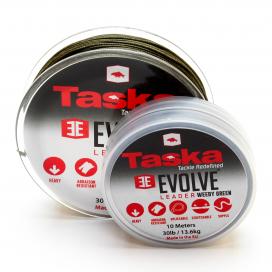 Taska Evolve - Evolve šokový náväzec nad montáž zelený 10m 30lb