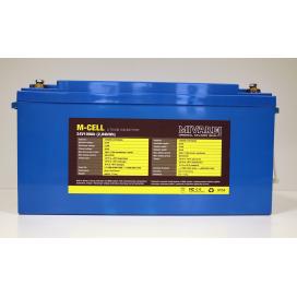 Mivardi Lítiová batéria M-CELL 24V 100Ah + 20A nabíjačka