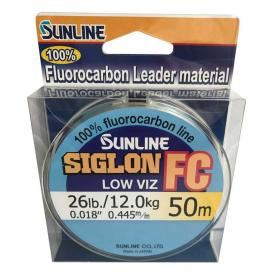 SUNLINE Fluorocarbon SIGLON FC 50m, 0.445 mm / 12 kg