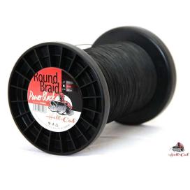 Hell-Cat Splietané šnúra Round Braid Power Black 1000m