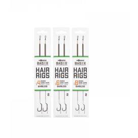 Korda Náväzec Basix Hair Rigs Wide Gape Barbless 2ks