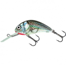 Salmo Wobler Hornet Sinking Holographic Grey Shiner