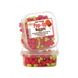Dynamite Baits Měkčenné peletky Super Fishmeal Pop-Up Nuggets Yellow / Red