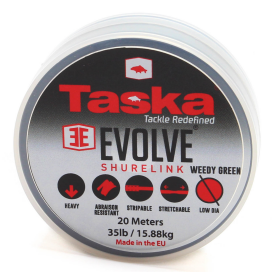 Taska Evolve - Shurelink komb. Náväzcový materiál zelený 20m 20lb