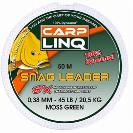 Odhadzovať šnúra Carp LINQ Snag Leader 35lb
