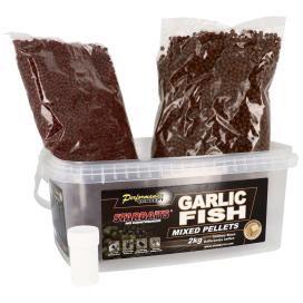 Starbaits Pelety Garlic Fish Mix Pellets 2kg