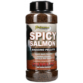 Starbaits Pelety Spicy Salmon Bagging 700g