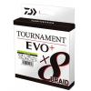 Daiwa Šnúra Tournament 8 Braid EVO + Chartreuse 0.12mm 135m