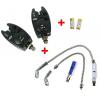 NGT 2x Hlásič Bite Alarm VX2 + 2x Retiazkový Swinger + 2x baterky ZADARMO!!!