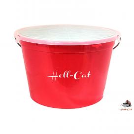 Hell-Cat řízkovnice s vekom 25litrov + vzduchovania