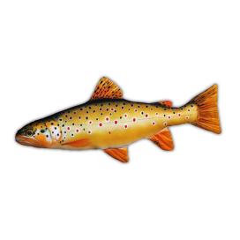 Gaby Vankúš plyšová ryba pstruh obyčajný - dúhový 62cm