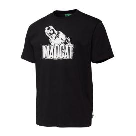 MADC Tričko clonky Teaser T-Shirt Black Caviar