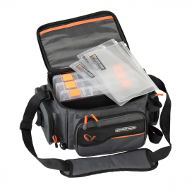 Savage Gear System Box Bag S 3Boxes & PP Bags 15x36x23cm