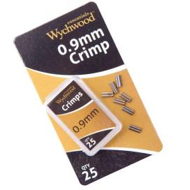 Wychwood kovové spojky 0.7mm CRIMPS 25ks