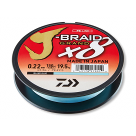 Daiwa Šnúra JBraid Grand X8E IB 0.20mm 135m