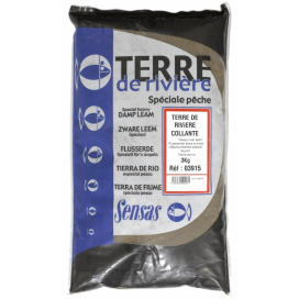 Sensas Hlina Terre De Riviere Collante 3kg