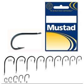 Rybárske háčiky Mustad 496 Soft Bait 2/0 25ks