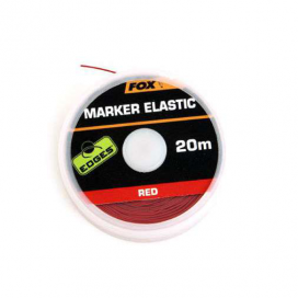 Fox edges marker elastic 20m - red