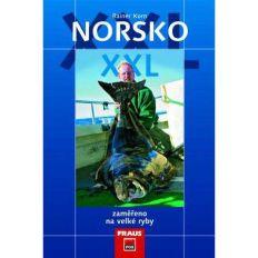 Rybárska kniha Nórsko XXL